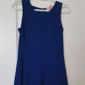 Loft Royal Blue Cocktail Dress